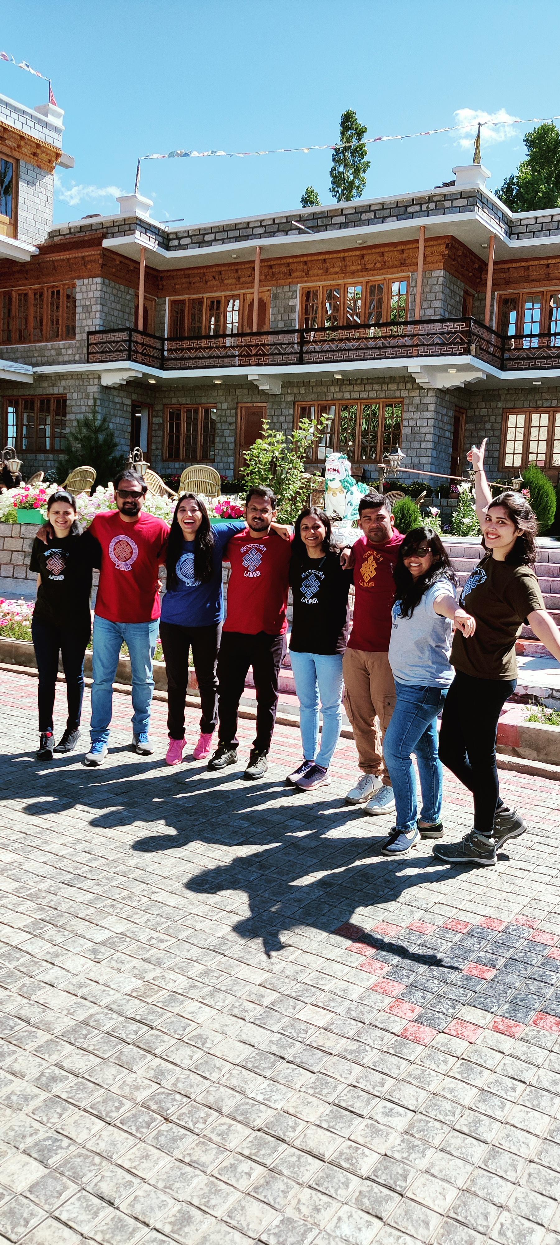 group trips to Ladakh